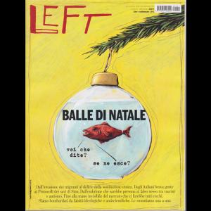 """LEFT - settimanale n. 51 - 20 Dicembre 2019 """"Balle di Natale"""""""