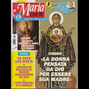 Maria con te - n. 52 - 29 dicembre 2019 - settimanale -