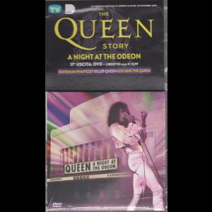 Gli speciali musicali di Sorrisi - n. 40 - 24 dicembre 2019 - The Queen story - A night at the odeon - Diciassettesima uscita - dvd + libretto