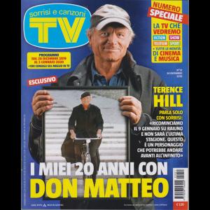 Sorrisi e Canzoni Tv - n. 51 - 24 dicembre 2019 - settimanale