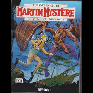 I grandi enigmi di Martin Mystere - Demoni! - n.366 - dicembre 2019 - bimestrale