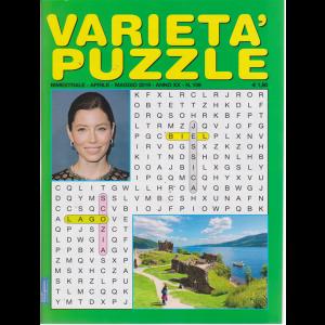 Varieta' Puzzle - n. 109 - bimestrale - aprile - maggio 2019 -