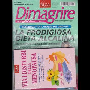 Dimagrire + il libro Via i disturbi della menopausa - n. 213 - mensile - gennaio 2020 - rivista + libro