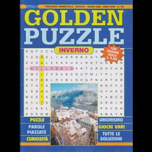 Golden puzzle - n. 133 - trimestrale - gennaio - marzo 2020 -  inverno - 100 pagine