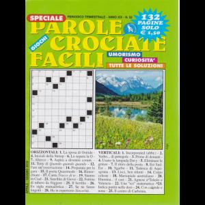 Speciale Parole Crociate facili - n. 52 - trimestrale - aprile - giugno 2019 - 132 pagine