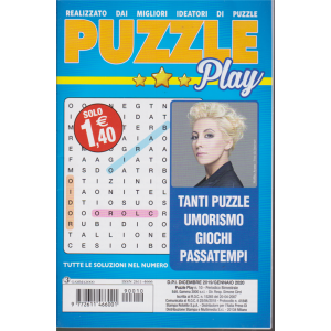 Puzzle Play - n. 10 - bimestrale - dicembre 2019 - gennaio 2020 -