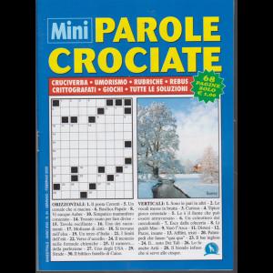 Mini parole crociate - n. 44 - bimestrale - gennaio - febbraio 2020 - 68 pagine