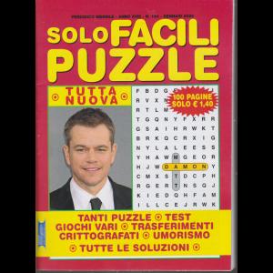 Solo facili puzzle - n. 194 - mensile - gennaio 2020  - 100 pagine