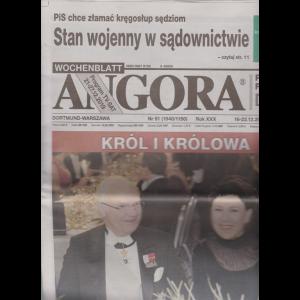 Angora - n. 51 - 16-22-12-2019 - in lingua polacca