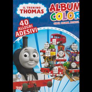 Album color Il trenino Thomas - n. 35 -bimestrale - 14 novembre 2019 -