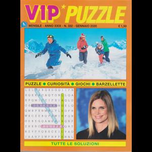 Vip puzzle - n. 332 - mensile - gennaio 2020 -