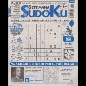 Settimana sudoku - n. 750 - settimanale - 27 dicembre 2019 -