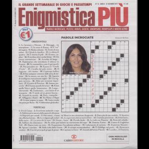 Enigmistica  Più - n. 52 - settimanale - 31 dicembre 2019 -