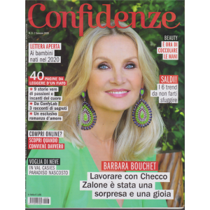 Confidenze - n. 3 - 7 gennaio 2020 - settimanale