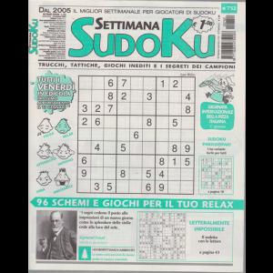 Settimana Sudoku - n. 752 - settimanale - 10 gennaio 2020 -