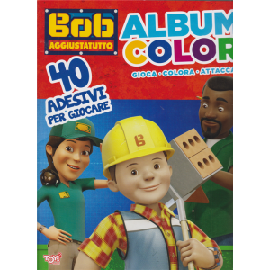 Album color Bob aggiustatutto - n. 50 bimestrale - 28 dicembre 2019
