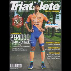 Triathlete - n. 259 - gennaio - febbraio 2020 - bimestrale