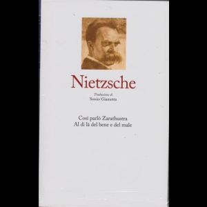 I grandi filosofi - Nietzsche - Così parlò Zarathustra. Al di là del bene e del male. - n. 11 - settimanale - 3/1/2020 - copertina rigida
