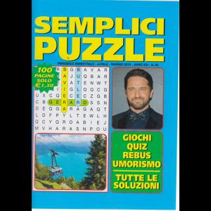 Semplici puzzle - n. 90 _ bimestrale - aprile - maggio 2019 - 100 pagine