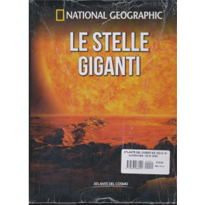 National Geographic- Le stelle giganti - n. 51 - quindicinale - 3/1/2020 - copertina rigida