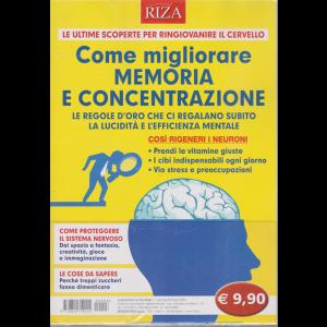 Riza Relax - n. 3 - gennaio - febbraio 2020 - Come migliorare memoria e concentrazione