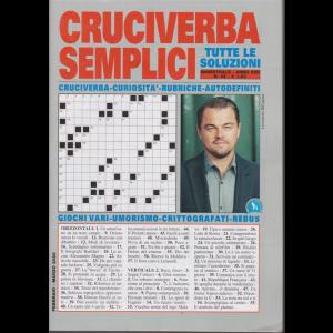 Cruciverba semplici - n. 92 - bimestrale - febbraio - marzo 2020