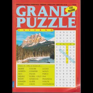 Grandi puzzle inverno - n. 85 - trimestrale - febbraio - aprile 2020 - 100 pagine