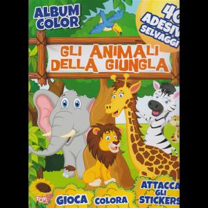 Album color - Gli animali della giungla - n. 49 - 28 dicembre 2019 - bimestrale