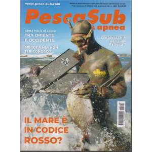 PescaSub & Apnea - n. 364 - mensile - 1 gennaio 2020 -
