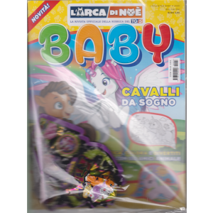 L'arca di Noè BABY -n. 4 - bimestrale - febbraio - marzo 2020 - + il megaposter il magico unicorno