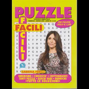 Puzzle facili facili - n. 36 - febbraio - marzo 2020 - bimestrale - 196 pagine Sabrina Ferilli
