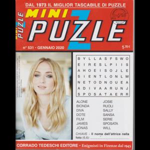 Mini puzzle - n. 531 - gennaio 2020 - mensile