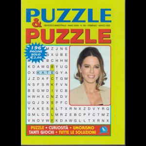 Puzzle & puzzle - n. 162 - bimestrale - febbraio - marzo 2020 - 196 pagine