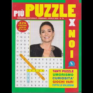 Più puzzle x noi - n. 79 - febbraio - aprile 2020 - 324 pagine