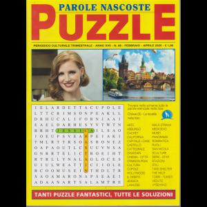 Parole nascoste Puzzle - n. 68 - trimestrale - febbraio - aprile 2020 .