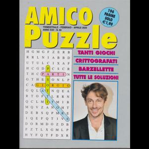 Amico puzzle - n. 89 - trimestrale - febbraio - aprile 2020 - 100 pagine