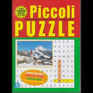 Piccoli puzzle - n. 267 - mensile - febbraio 2020 - 100 pagine