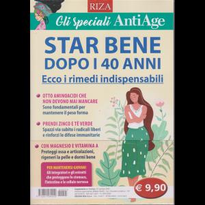 Gli speciali AntiAge - n. 21 - gennaio 2020 - Star bene dopo i 40 anni.