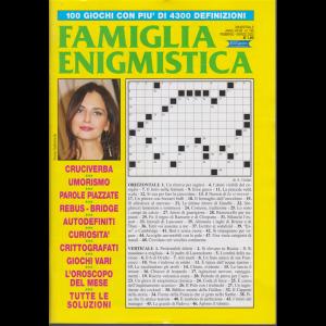 Famiglia enigmistica - n. 199 - bimestrale - febbraio - marzo 2020 -