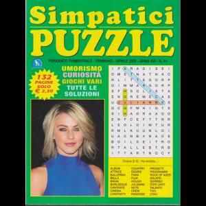 Simpatici puzzle - n. 41 - trimestrale - febbraio - aprile 2020 - 132 pagine