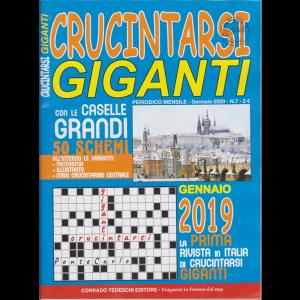 Crucintarsi giganti - n. 7 - mensile - gennaio 2020 -