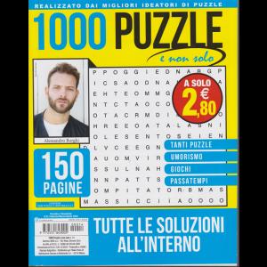 1000 puzzle e non solo - n. 14 - trimestrale - febbraio - marzo - aprile 2020 - 150 pagine
