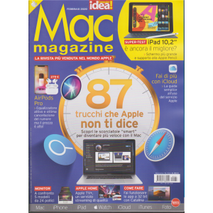 Mac magazine - n. 133 - febbraio 2020 - mensile