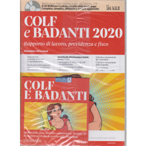 Colf e badanti 2020 - n. 1 - mensile - gennaio 2020 -+ cd rom