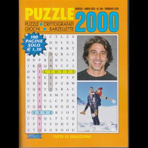Puzzle 2000 - n. 346 - mensile - febbraio 2020 - 100 pagine