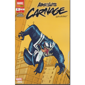 Absolute carnage zerocalcare - n. 227 - mensile - 16 gennaio 2020 -