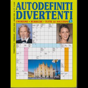Autodefiniti divertenti - n. 77 - trimestrale - febbraio - aprile 2020 -