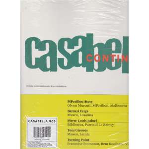 Casabella 905 - Continuità - gennaio 2020 - italiano inglese