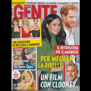 Gente - n. 3 - 25/1/2020 - settimanale