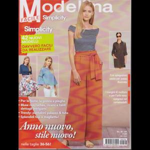 Modellina Simplicity facile - n. 36 - bimestrale - 16/1/2020 -